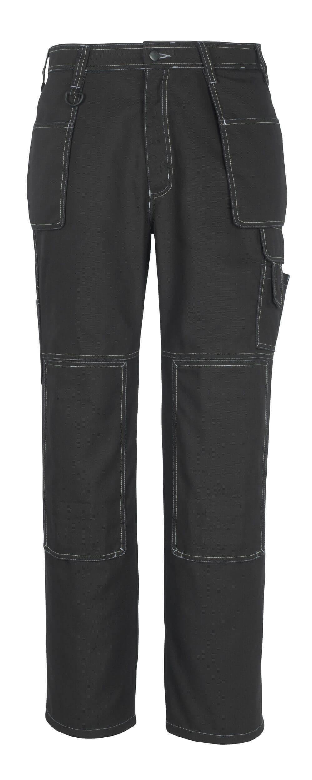 50194-884-09 Hose mit Knie- und Hängetaschen - Schwarz