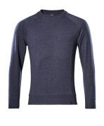 50204-830-66 Sweatshirt - Gewaschener dunkelblauer Denim