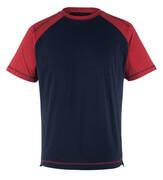 50301-250-12 T-Shirt - Marine/Rot
