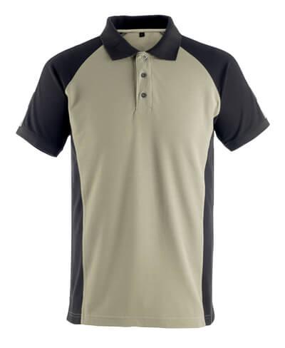 50502-260-5509 Polo-Shirt - Hellkhaki/Schwarz