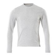 50548-250-08 T-Shirt, Langarm - Grau-meliert