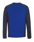 50568-959-11010 T-Shirt, Langarm - Kornblau/Schwarzblau