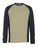 50568-959-1809 T-Shirt, Langarm - Dunkelanthrazit/Schwarz
