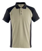 50569-961-5509 Polo-Shirt - Hellkhaki/Schwarz