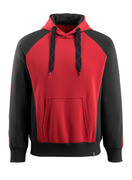 50572-963-0209 Kapuzensweatshirt - Rot/Schwarz