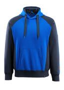 50572-963-11010 Kapuzensweatshirt - Kornblau/Schwarzblau