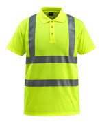 50593-972-17 Polo-Shirt - hi-vis Gelb
