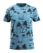 50596-983-85 T-Shirt - Steinblau