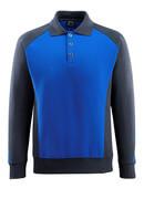 50610-962-1809 Polo-Sweatshirt - Dunkelanthrazit/Schwarz
