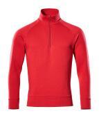 50611-971-02 Sweatshirt mit kurzem Reißverschluss - Rot