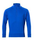 50611-971-11 Sweatshirt mit kurzem Reißverschluss - Kornblau