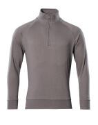 50611-971-888 Sweatshirt mit kurzem Reißverschluss - Anthrazit
