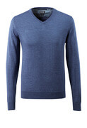 50635-989-41 Strickpullover - Blau-meliert