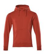 51589-970-02 Kapuzensweatshirt - Rot