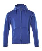 51590-970-11 Kapuzensweatshirt mit Reißverschluss - Kornblau