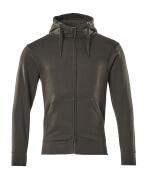 51590-970-18 Kapuzensweatshirt mit Reißverschluss - Dunkelanthrazit