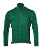 51591-970-03 Sweatshirt mit Reißverschluss - Grün