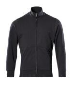51591-970-09 Sweatshirt mit Reißverschluss - Schwarz