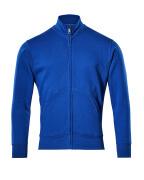 51591-970-11 Sweatshirt mit Reißverschluss - Kornblau
