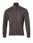 51591-970-18 Sweatshirt mit Reißverschluss - Dunkelanthrazit