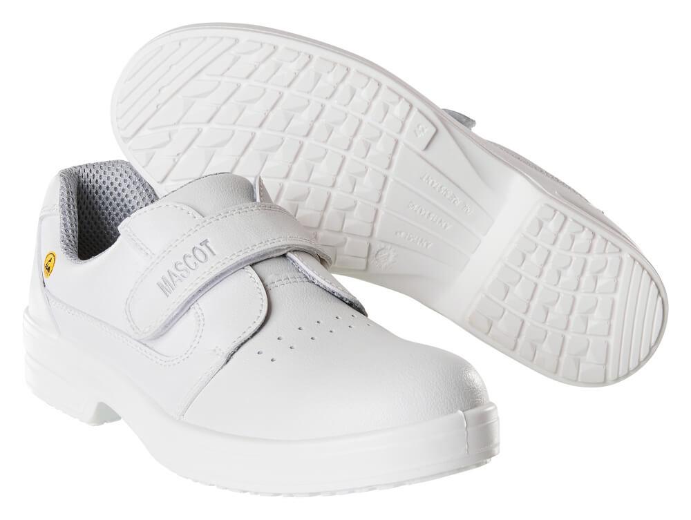 F0802-906-06 Sicherheitshalbschuh - Weiß